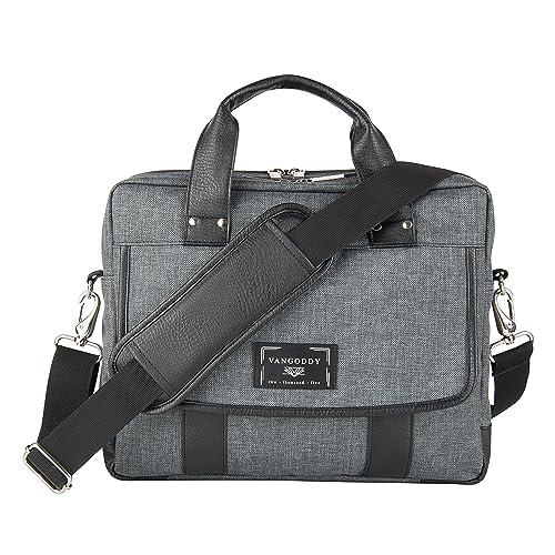Great to School Laptop Bag Briefcase Shoulder Bag Travel Stamps Visa Different Documents Traveling 15.6 Inch Tote Bag Laptop Messenger Shoulder Bag Case Notebook Bag Office