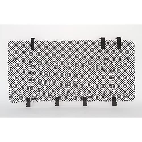 Black Restyling Factory 07-16 Jeep JK Wrangler Black Bug Screen Stainless Steel Wire Mesh Grille Insert Cover Grill for Angry Bird Grille Shell ONLY! Black