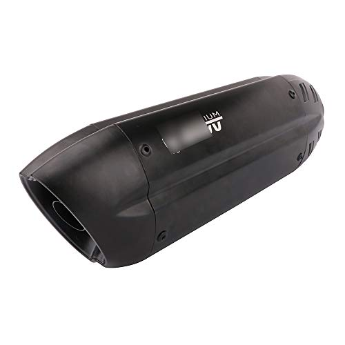 Motorcycle Slip on Exhaust Muffler Short Universal 1.5-2 Inlet Exhaust Pipe With Removable DB Killer For GY6 ATV Scooter Dirt Pit Bike Ninja 300 400 Yamaha R3 BMW DUCATI For Honda KAWASAKI SUZUKI