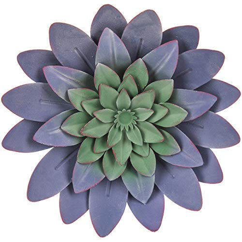 Buy Everydecor Blue Succulent Metal Wall Decor Online In Nigeria B07pns46xq