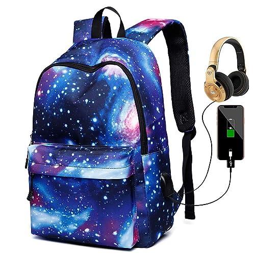 CS GO Galaxy School Backpack Bookbag Casual Daypack Travel Laptop Backpack for Girls Teenagers