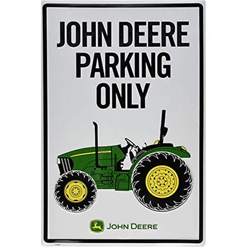 Buy Cbtsupply Metal Sign John Deere Parking Only Car Vintage Tin Wall Poster For Coffee Livingroom 30x20cm Plain Painting Online In Nigeria B07xfjyn3l