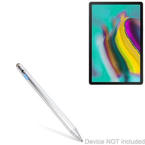BoxWave Jet Black Realme Q Stylus Pen EverTouch Capacitive Stylus Fiber Tip Capacitive Stylus Pen for Realme Q