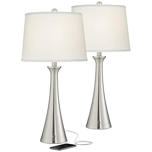 Usb And Ac Power, Table Lamps For Living Room The Range