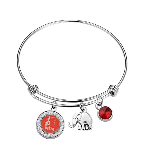 Inspired Delta Sigma Theta Stainless Steel Charm