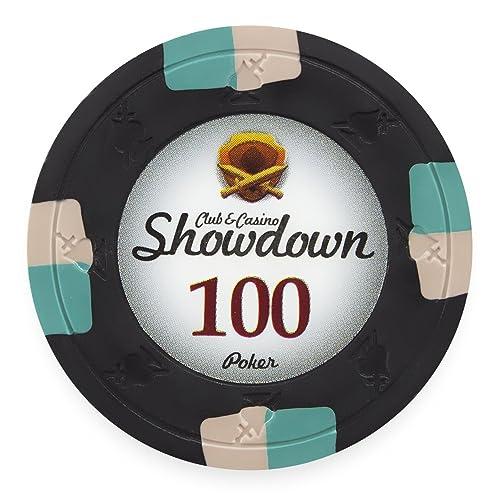 Claysmith Gaming Desert Heat Poker Chip Heavyweight 13.5-Gram Clay Composite Pack of 50