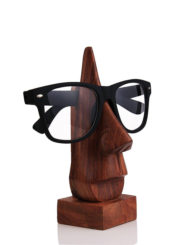 à couper le Souffle  Mot-Clé Buy WhopperIndia Wooden Eyeglass Spectacle Holder Handmade Nose ...