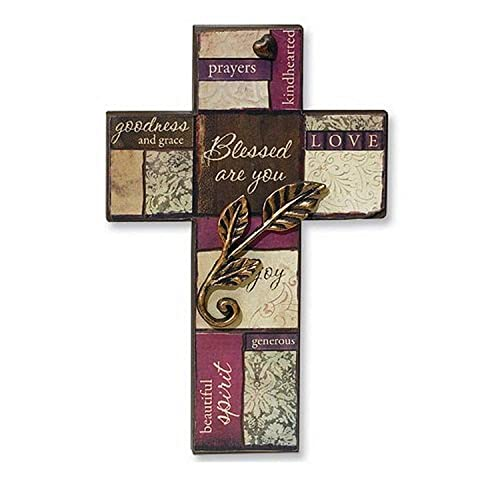Buy Abbey Gift Blessed Are You Wall Cross Online In Nigeria B075722khx