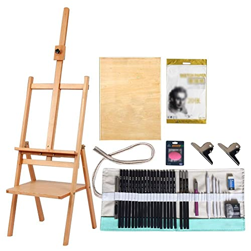 Vencer 10 x 7 Canvas /& 14 x 9 Easel Set Painting Craft Drawing Art Decoration Sets/…