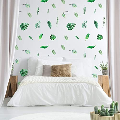 Buy Wall Stickers Decal Outgeek 126 Pcs Tropical Stickers Palm Leaf Plants Wall Murals Removable Waterproof For Kids Nursery Room Bedroom Living Room Decorations Online In Nigeria B081stqcyl