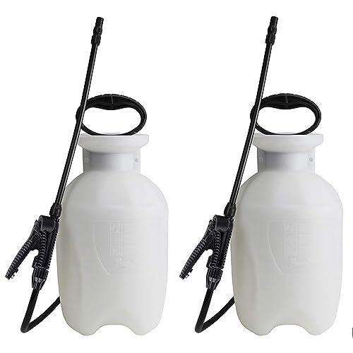 Patio, Lawn & Garden Sprayers 2 Pack Translucent White 2 1 Gallon ...