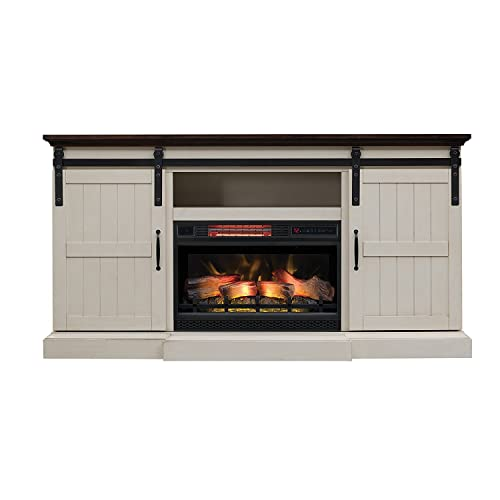 U Nigeria Ping For, Greatlin Infrared Electric Fireplace Tv Stand In Black Walnut 26mmas6064 Nw07