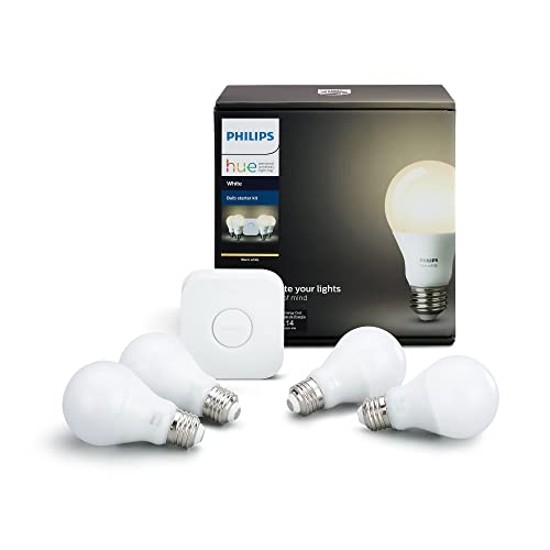 Bluetooth /& Zigbee compatible A Certified for Humans Device Hue Hub Optional Philips Hue White and Color Ambiance BR30 LED Smart Bulb Works with Alexa /& Google Assistant