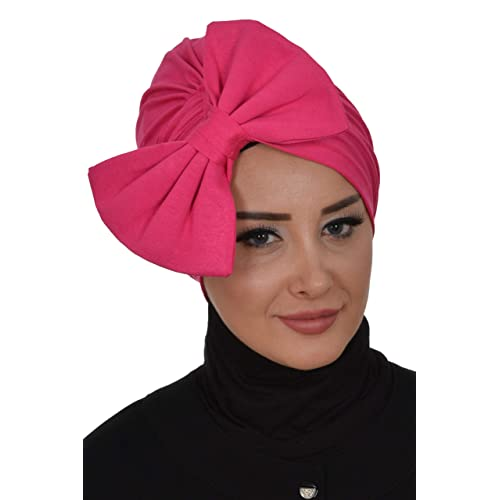 Instant Turban for Women Cotton Head Wrap Lightweight Head Scarf Modest Headwear