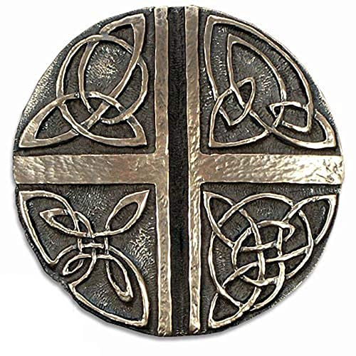 Buy Biddy Murphy Celtic Knot Wall Hanging Irish Love Cross Celtic Wall Decor 5 Diameter Bronze Coated Resin Ready To Hang Made In Ireland Online In Nigeria B082fp7wdh