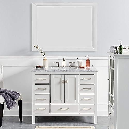Eviva Evvn412 42wh Aberdeen 42, Bathroom Vanities Clearance