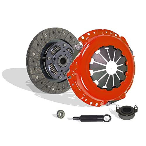 6-Puck Stage 2; Vq35De; 3.5L All Models Clutch Kit Valeo Works With Nissan 350Z Infiniti G35 Journey Base Enthusiast Grand Touring Track Performance 2003-2007 3.5L V6 Gas Dohc Naturally Aspirated