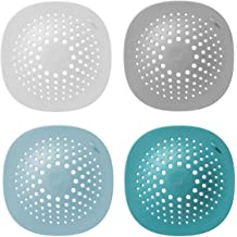 Vanki Set Of 3 Soft Silicone Drain Protector With Suction Cups for Pop-Up /& Drain Relief Color random