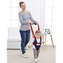 Sky Blue Multifunction Baby Walker Toddler Walking Assistant,3-in-1 Protective Belt Harness Breathable Stand Up /& Walking Learning Helper for 5-26 Month Baby Boy and Girl