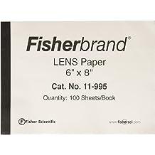 6 L x 8 W Fisher Scientific 11-995 Lens Paper Pack of 12 15.2 cm x 20.3 cm