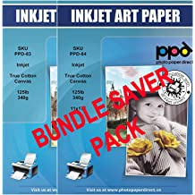 PPD056-100 PPD Inkjet Matte Photo Paper Heavy Weight LTR 8.5 x 11 49lbs 180gsm 9.5mil X 100 Sheets